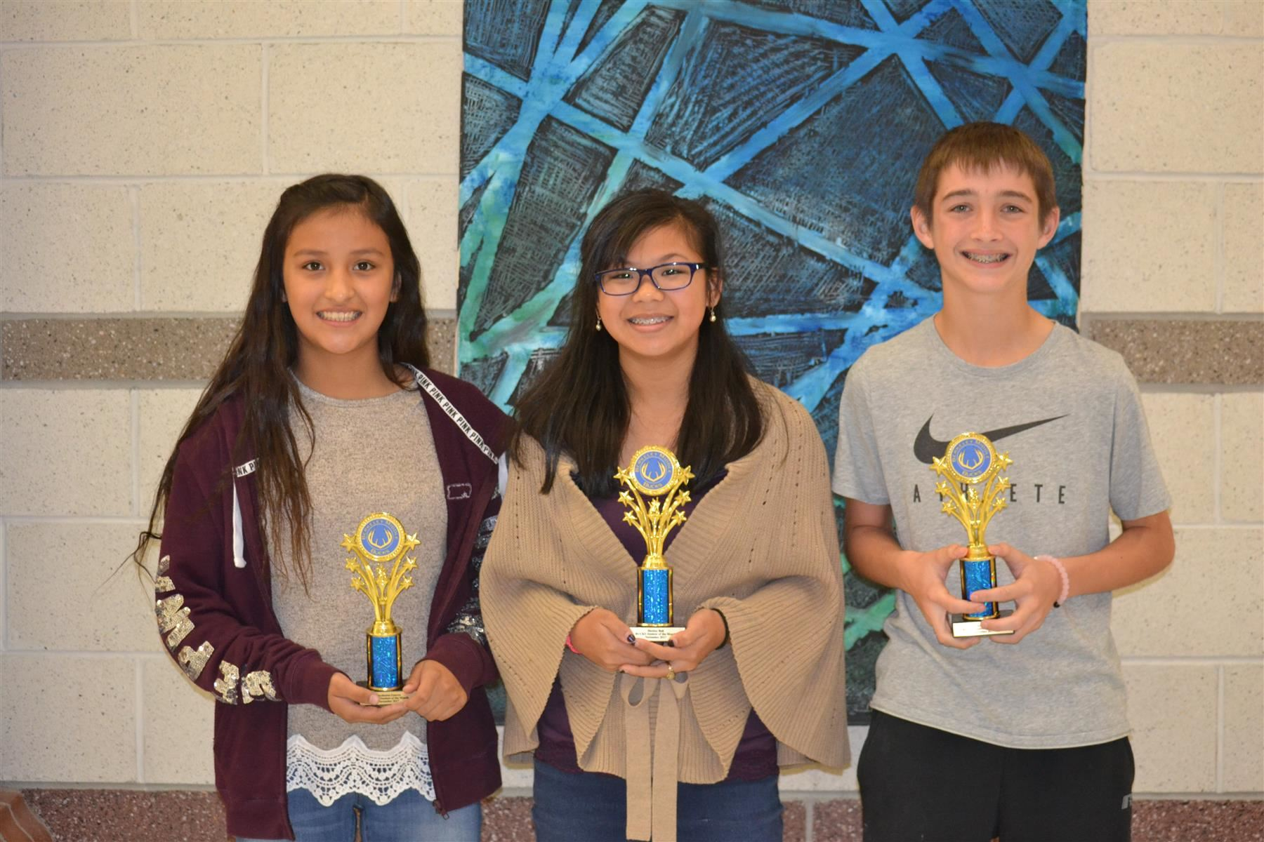 November BUCKS Students of the Month