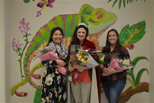 Teacher of the Year Finalists - Mrs. Dragotta, Mrs. Power, and Mrs. Lawhon