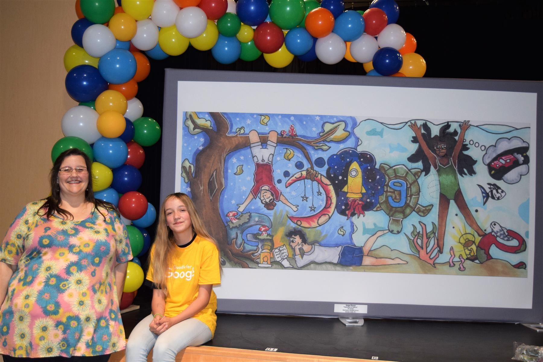 MMSOA's Saige Shoup wins Google Doodle competition for SC!