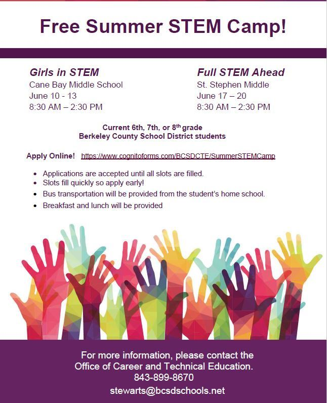 STEM Summer Camps