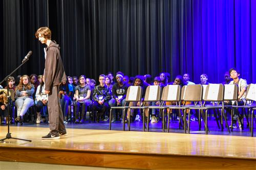 Braeden LaRoche claims 2020 district spelling bee
