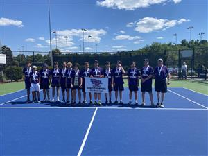 boys tennis group picture