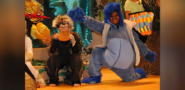 Image from H.E. Bonner Jungle Book Performance