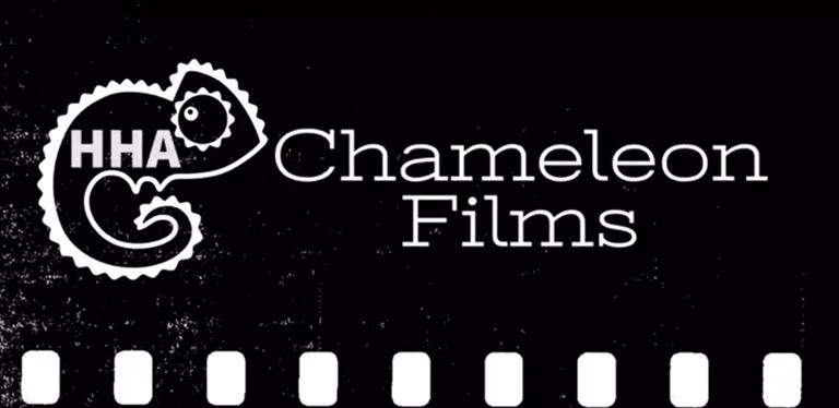 "graphic that reads ""chameleon films"""