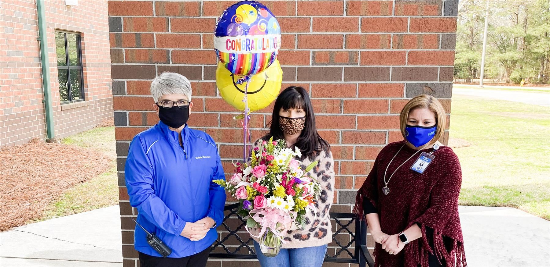 Stephanie Lafferty named BES Teacher of the Year