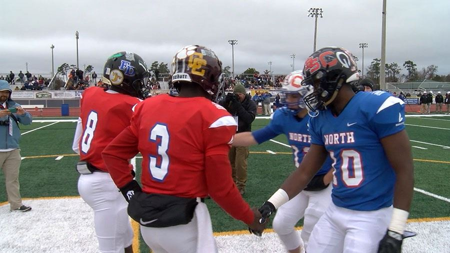 BCSD student-athletes shine in North-South game