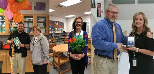 Photos of Rookie Teacher of the Year finalists