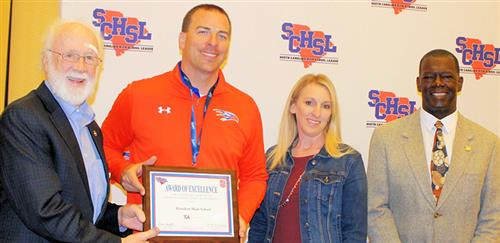 Hanahan High receives SCHSL Award of Excellence