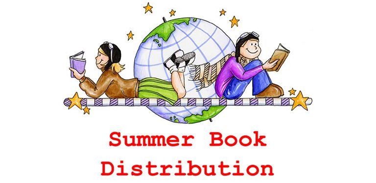 Generic summer book distribution graphic
