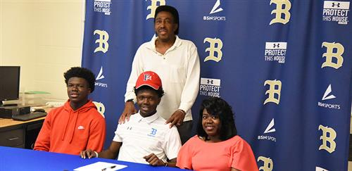 Photo from Ephraim Butler's signing