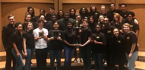 Goose Creek chamber choir wins big at Lander University Choral Festival