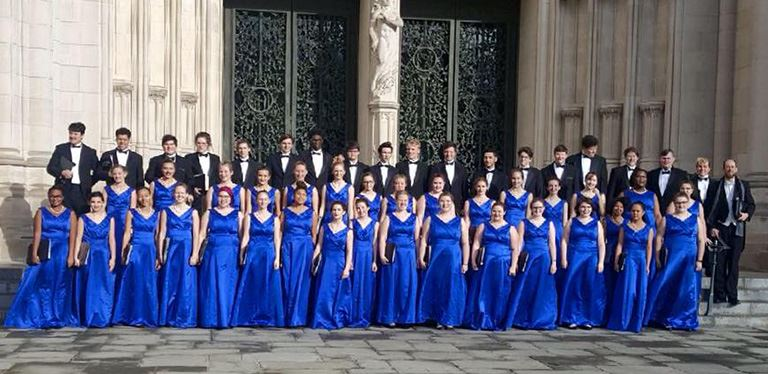 Cane Bay choirs perform at Washington National Cathedral