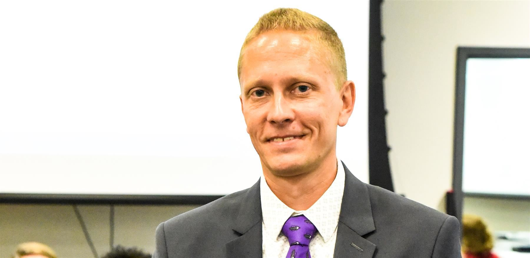 Christopher Buchholz named new principal of Philip Simmons High