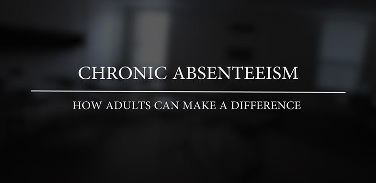 Chronic absenteeism: What adults can do to make a difference