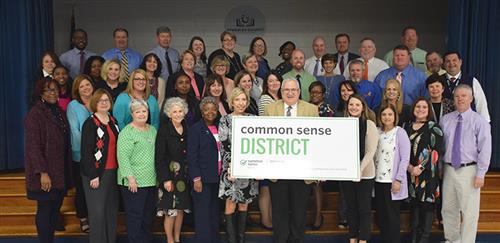 Photo of BCSD principals and superintendant