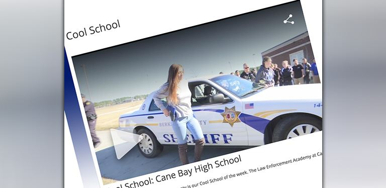 Cane Bay High School featured as News 2 Cool School!