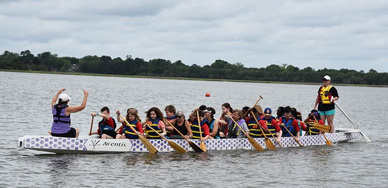 Photo from Turnaround dragon boat lesson