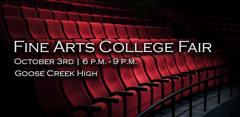 Fine Arts College Fair - October 3rd - 6 p.m.-9 p.m. at GCHS