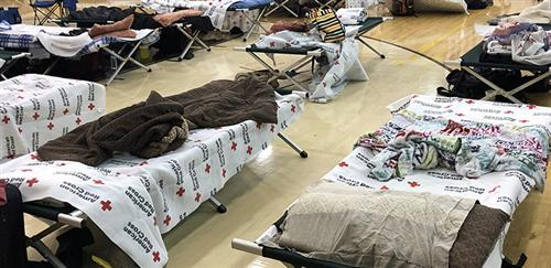 Seven schools opened their doors as shelters, and BCSD employees, working alongside teams from the