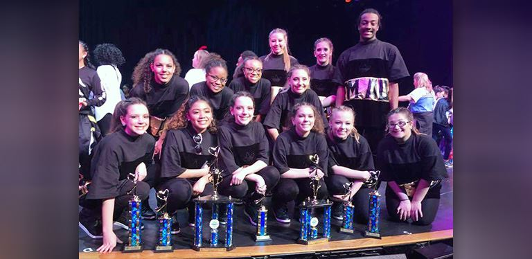 Goose Creek Dance Team wins several awards at Eastern Dance Nationals