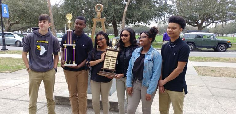 Goose Creek BHM quiz bowl team