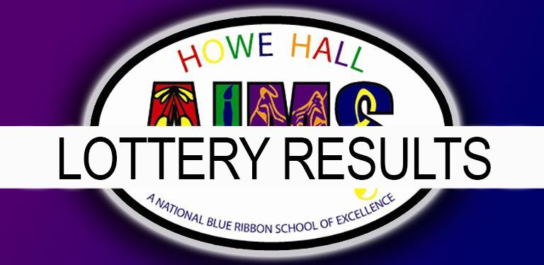 HHA Lottery Results graphic