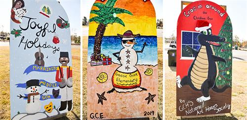 BCSD holiday boards are on display for Celebrate The Season