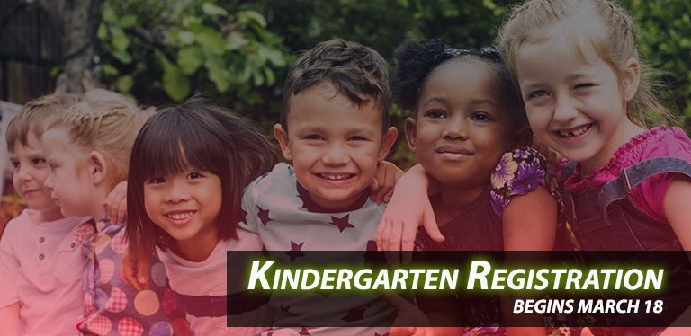 Generic kindergarten registration graphic