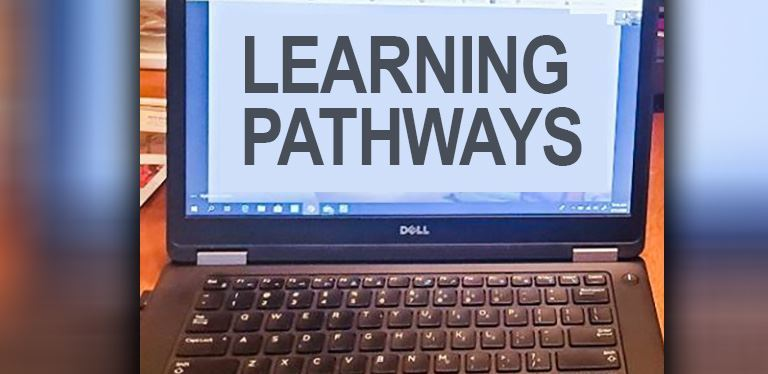 graphic for learning pathways