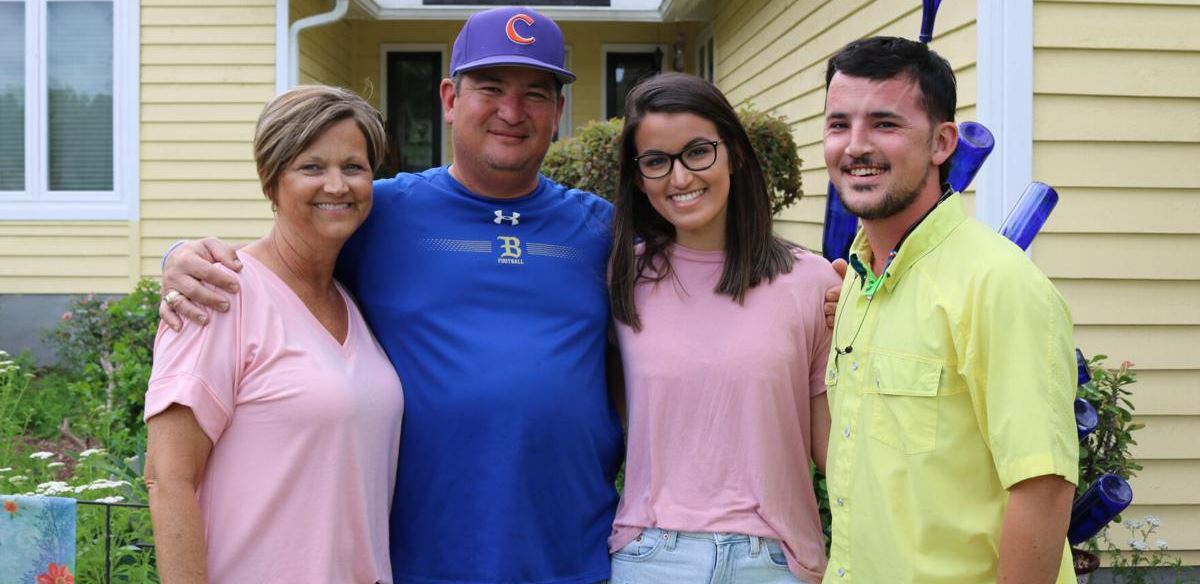 Photo provided by The Summerville Journal Scene; Lisa Swiney pictured with her family