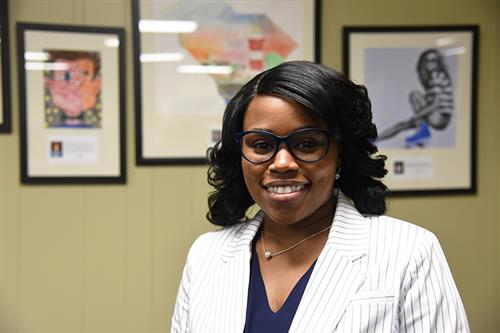 Photo of new CBE Assistant Principal Crystal Mitchum