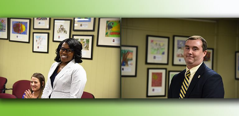 Photos of new assistant principals approved at the July 24 board meeting