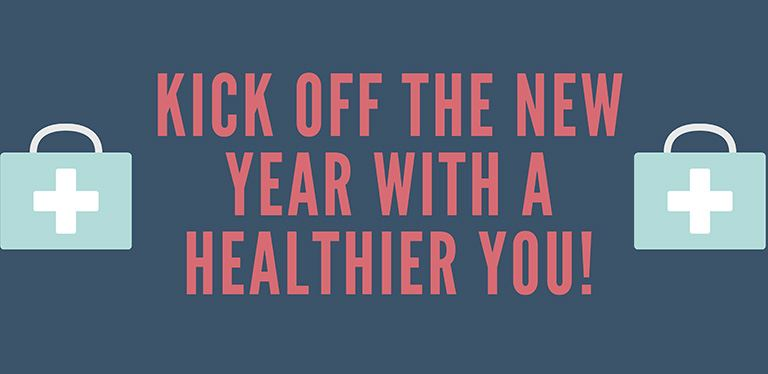 Graphic - Kick off the new year with a healthier you!
