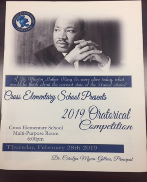 Oratorical Competition Program