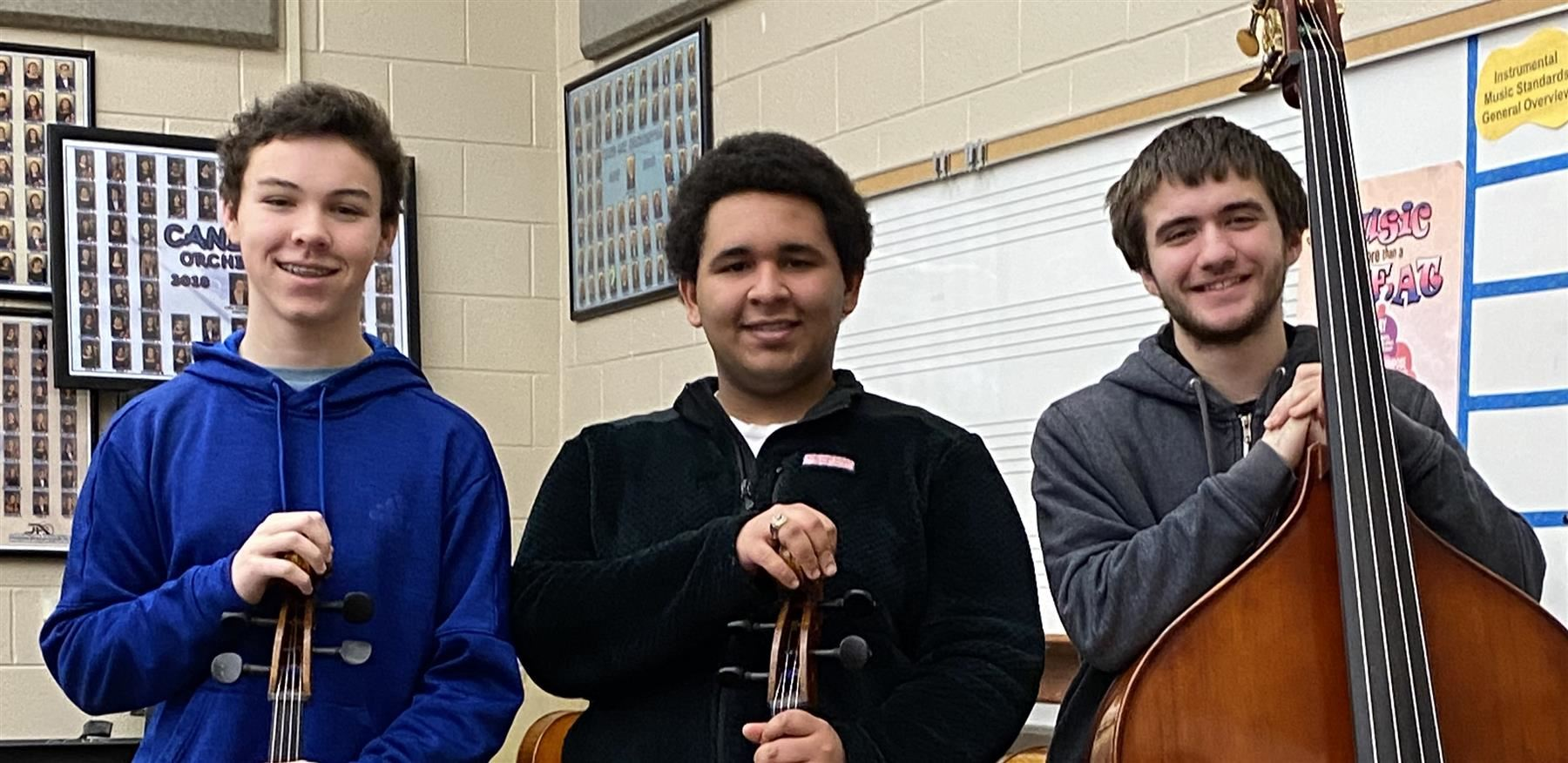 BCSD students qualify for All State Orchestra