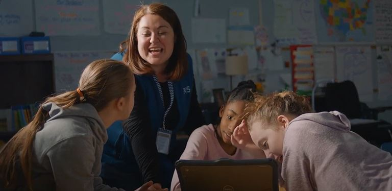 BIS teacher featured in University of South Carolina commercial