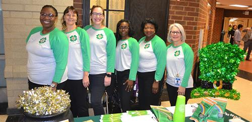 JKE educators at the 2019 Teacher Recruitment Fair