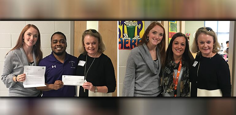 BP Amoco donates nearly $10k to Phillip Simmons High School