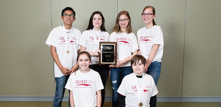 QUEST winners from Westview Middle