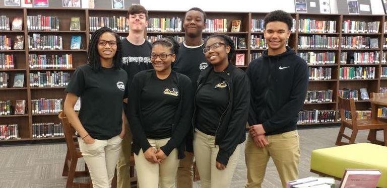 GCHS quiz bowl team