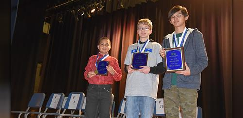 BCSD Spelling Bee winners