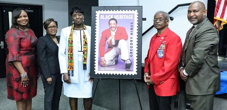 42nd Black Heritage Stamp unveiling