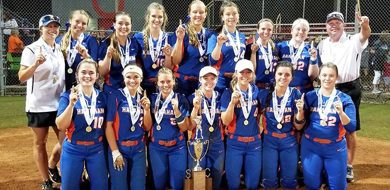 Photo of Hanahan's state softball champs
