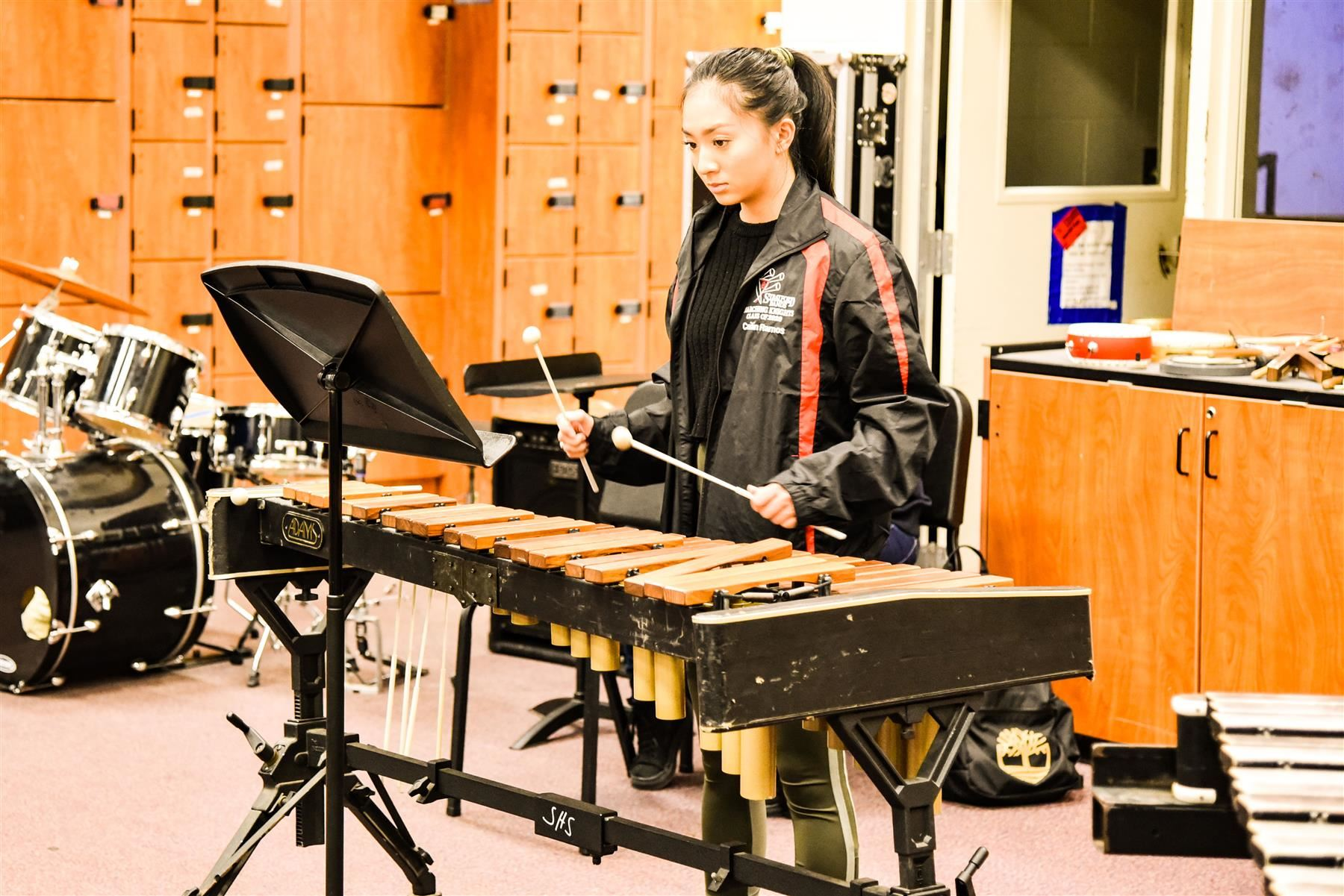 Stratford High's wind orchestra has been selected to perform in a national concert in March