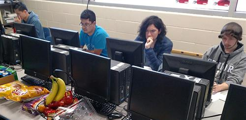 Cyber Knights show skills in cyber security competition