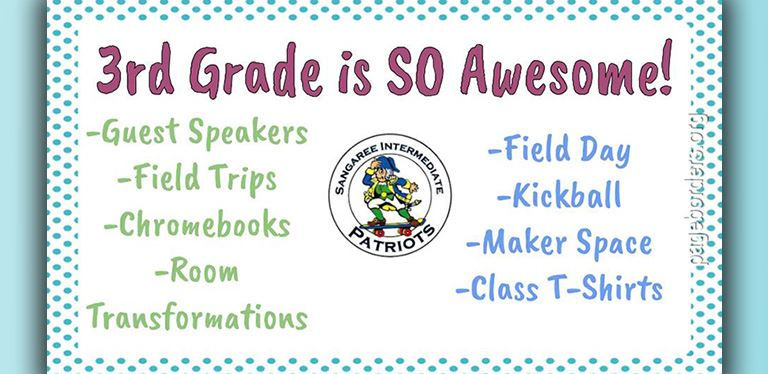 3rd grade virtual orientation slide - all info is in linked presentation