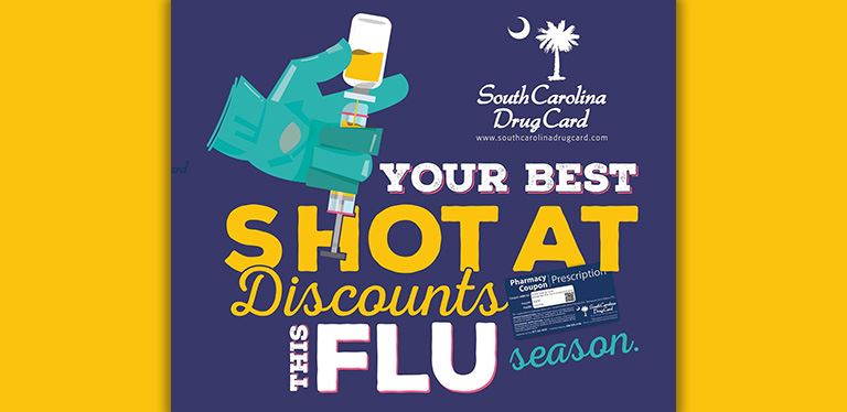 SC drug card promotional graphic