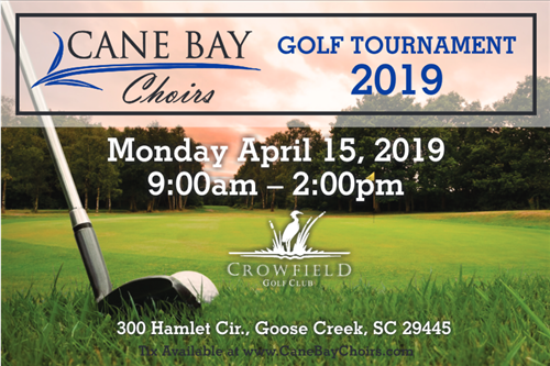 golf tournament 4/15/19