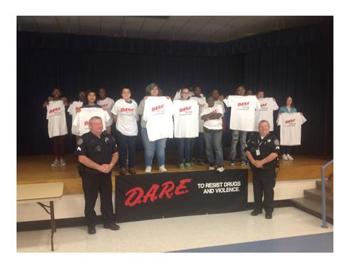 D.A.R.E To Resist Drugs