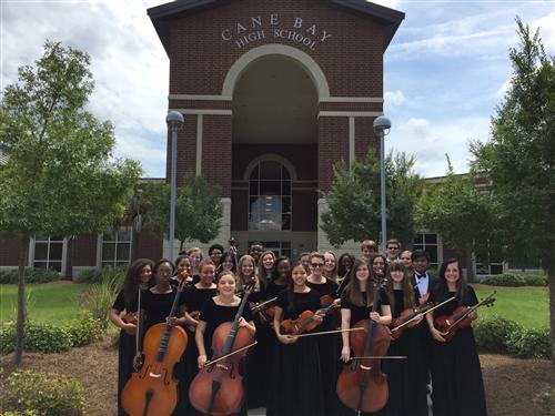 Cane Bay Chamber Orchestra 2015-2016